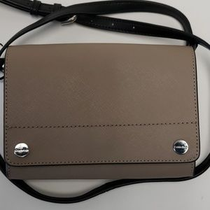 CALVIN KLEIN FLAP OVER CROSSBODY